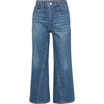3x1 - Aimee High-rise Wide-leg Jeans - Blue