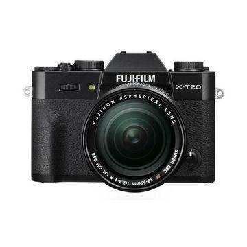 ''Fujifilm X-T20 Mirrorless Camera w/XF 18-55mm F2.8-4 R LM OIS Lens, Black''