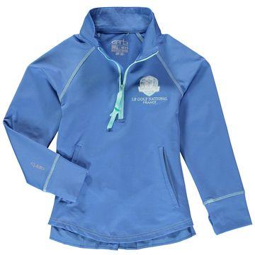 Garb Girls Youth 2018 Ryder Cup Adalyne Quarter-Zip Pullover Jacket Blue