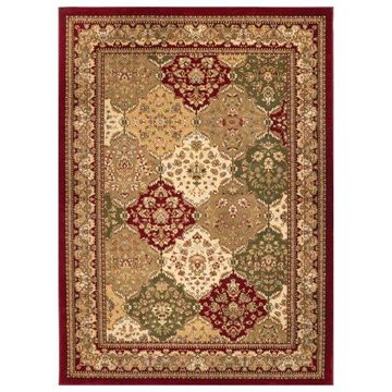 Well Woven Timeless Red Area Rug, 10'11