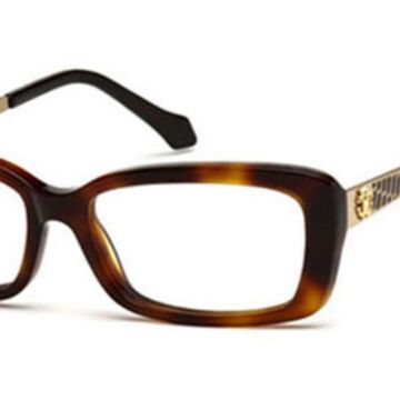 Roberto Cavalli RC 822 ALRAI 052 Womenas Glasses Brown Size 53 - Free Lenses - HSA/FSA Insurance - Blue Light Block Available