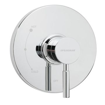 Speakman Neo Polished Chrome 1-Handle Commercial Shower Faucet