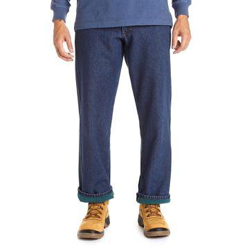 Big & Tall Stanley Fleece-Lined 5-Pocket Jeans