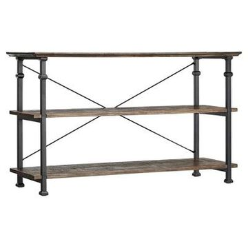 Ronay Rustic Industrial Console Table - Inspire Q