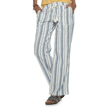 Women's SONOMA Goods for Life Linen-Blend Pants