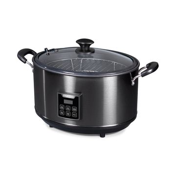 Indoor Electric Smoker and Slow Cooker