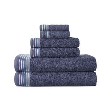 Home Expressions Ombre Stripe Bath Towels