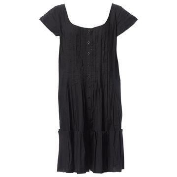 Philosophy Di Alberta Ferretti Black Cotton Dresses