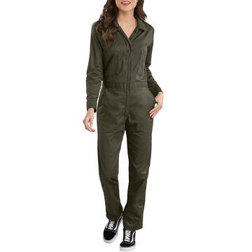 Women's Dickies Long Sleeve Twill Coveralls