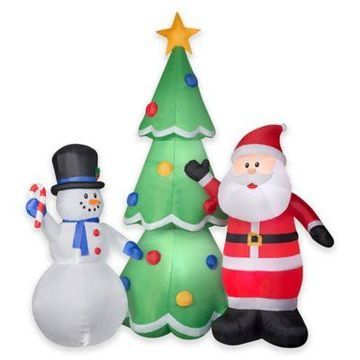 National Tree Company Airblown 13-Foot Inflatable Christmas Trio