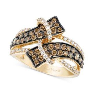 Le Vian Chocolatier Diamond Ring (1-1/5 ct. t.w.) in 14k Gold