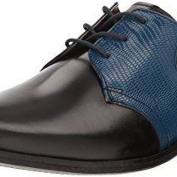Giorgio Brutini Men's Gotham Oxford, Bordo/Navy, 7 M US