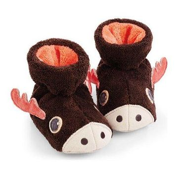 Acorn Kids Toddler Easy Critter Moose Bootie
