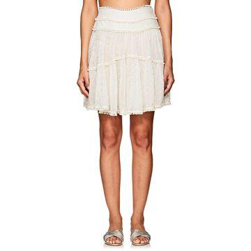 Zimmermann Painted Heart Contour Miniskirt