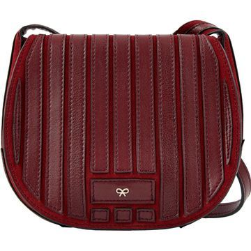Anya Hindmarch Burgundy Leather Handbags