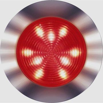 SeaSense Recessed Mount 21 LED Accent Light, 12 White and 9 Red