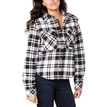 Calvin Klein Jeans Womens Shirt Jacket Fall/Winter Plaid