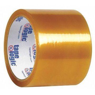 TAPE LOGIC T90653 PVC Natural Rubber Tape,2.1 Mil,3''x55 yds.,Clear,PK24