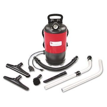 Electrolux SC412A Commercial Backpack Vacuum, 11.5lb, Red