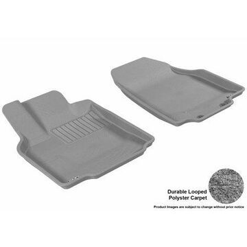 3D MAXpider 2007-2015 Mazda CX-9 Front Row All Weather Floor Liners in Gray Carpet