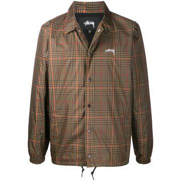 checked jacket