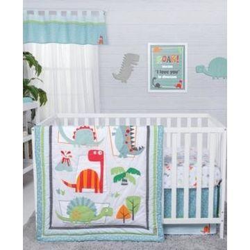 Trend Lab Dinosaur Roar 3-Piece Crib Bedding Set Bedding