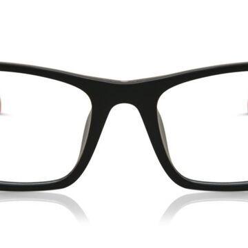 Tag Heuer TH-0555 005 Men's Glasses Black Size 55 - Free Lenses - HSA/FSA Insurance - Blue Light Block Available