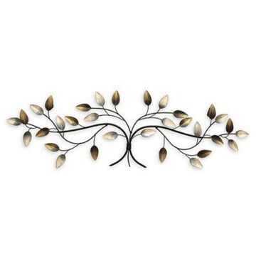 Stratton Home Decor Blowing Leaves Over the Door Wall Sculpture