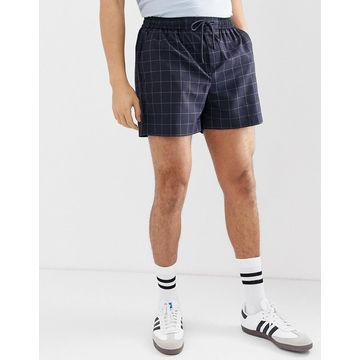New Look shorts in navy check