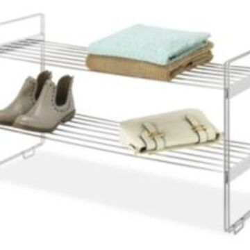 Whitmor Stackable Closet Shelf