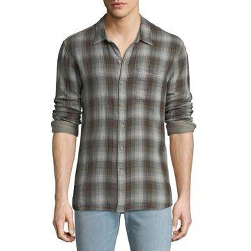 Men's Reversible Sport Shirt, Brown