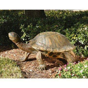 Design Toscano The Tranquil Tortoise Garden Sculpture - Giant