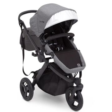 J is for Jeep Sport Utility All-Terrain Jogger by Delta Children