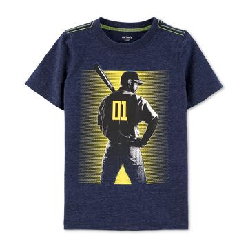 Little & Big Boys Baseball-Print T-Shirt