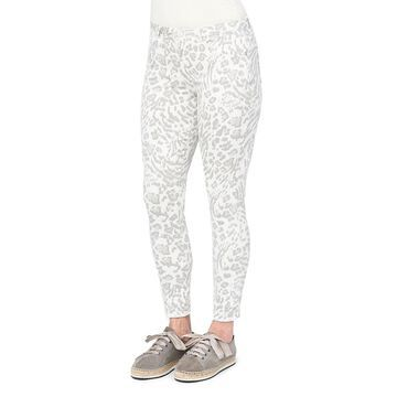 Democracy Women's Ab-Solution High-Rise Animal-Print Ankle Jean
