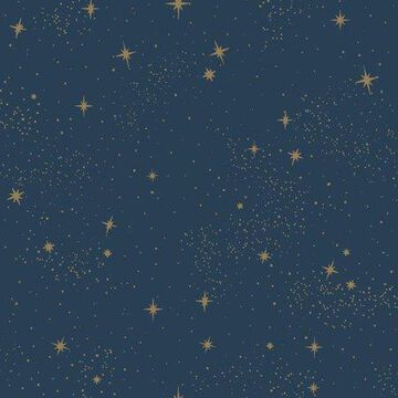 RoomMates Upon A Star Peel and Stick Wallpaper