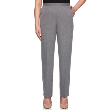 Women's Alfred Dunner Proportioned Straight-Leg Pants