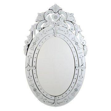 Afina Radiance Venetian Decoraive Mirrors, Oval