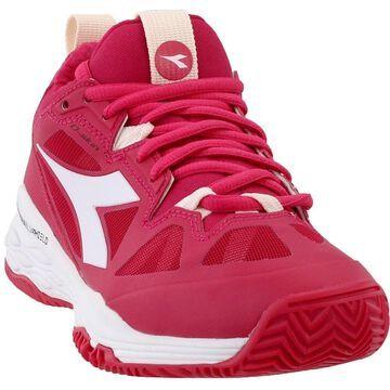 Diadora Womens Speed Blushield Fly 2 Clay Tennis Casual Shoes