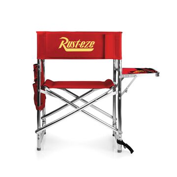 Picnic Time& Lightning McQueen Sports Chair in Red