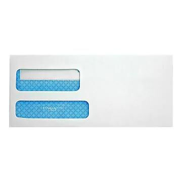 "Quality Park Redi-Seal Security Tinted #9 Business Envelopes, 3 7/8"" x 8 7/8"", White Wove, 500/Box (QUA24529)"