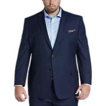 Pronto Uomo Blue Herringbone Executive Fit Suit