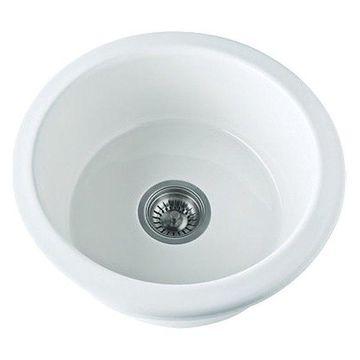 Rohl, Kitchen Sink, White, 18