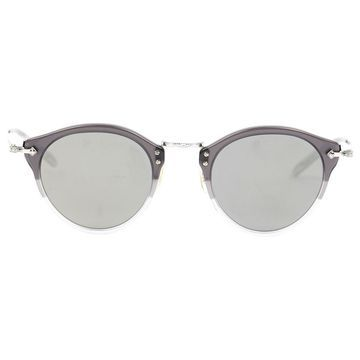 Oliver Peoples Silver Metal Sunglasses