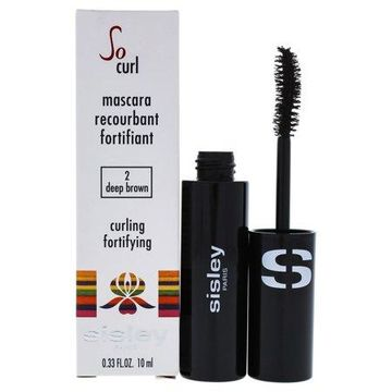 So Curl Curling Fortifying Mascara - # 02 Deep Brown by Sisley for Women - 0.33 oz Mascara