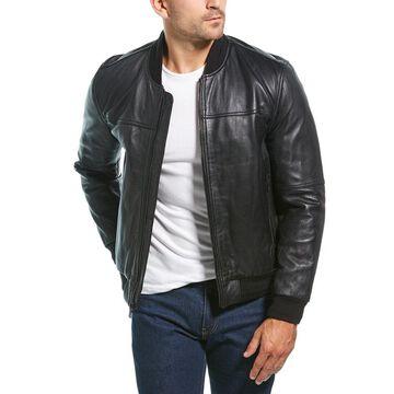Marc New York Mens Summit Leather Jacket