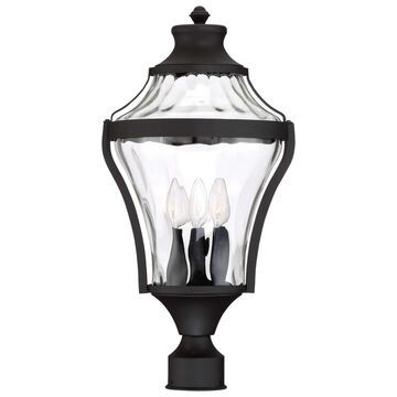 Libre Black 4 Light Outdoor Post By Minka Lavery