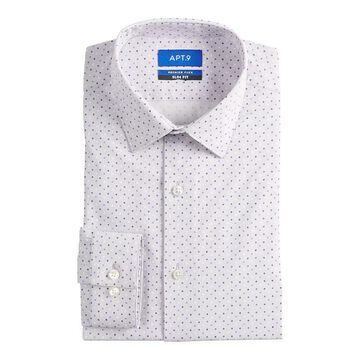Men's Apt. 9 Premier Flex Slim-Fit Spread-Collar Dress Shirt, Size: XL-32/33, Purple
