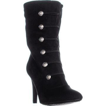Rialto Womens Chung Fabric Almond Toe Mid-Calf Fashion