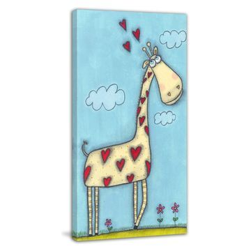Marmont Hill Giraffe Wall Art